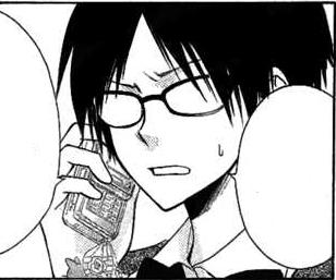 تقرير عن المانجا ~ Kaichou Wa Maid-Sama ~ Shizuko_talking_on_the_phone_manga