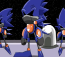 Cosmic Chase Sonic Robots