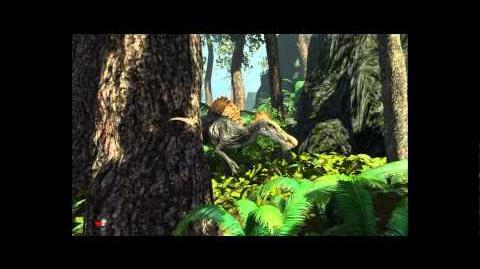 Primal Carnage - WIP Spinosaurus 'Leaked' Gameplay