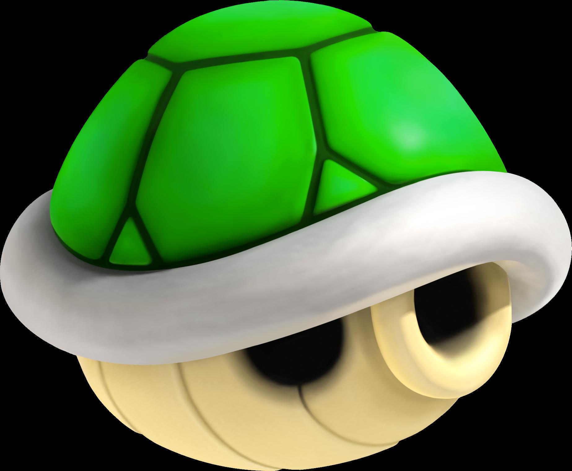 Top 5 Items in Mario Kart Green_Shell_NSMBU