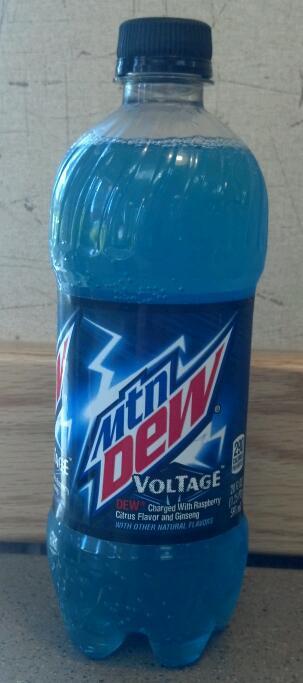Mountain Dew Voltage/Bottle - packaging pedia