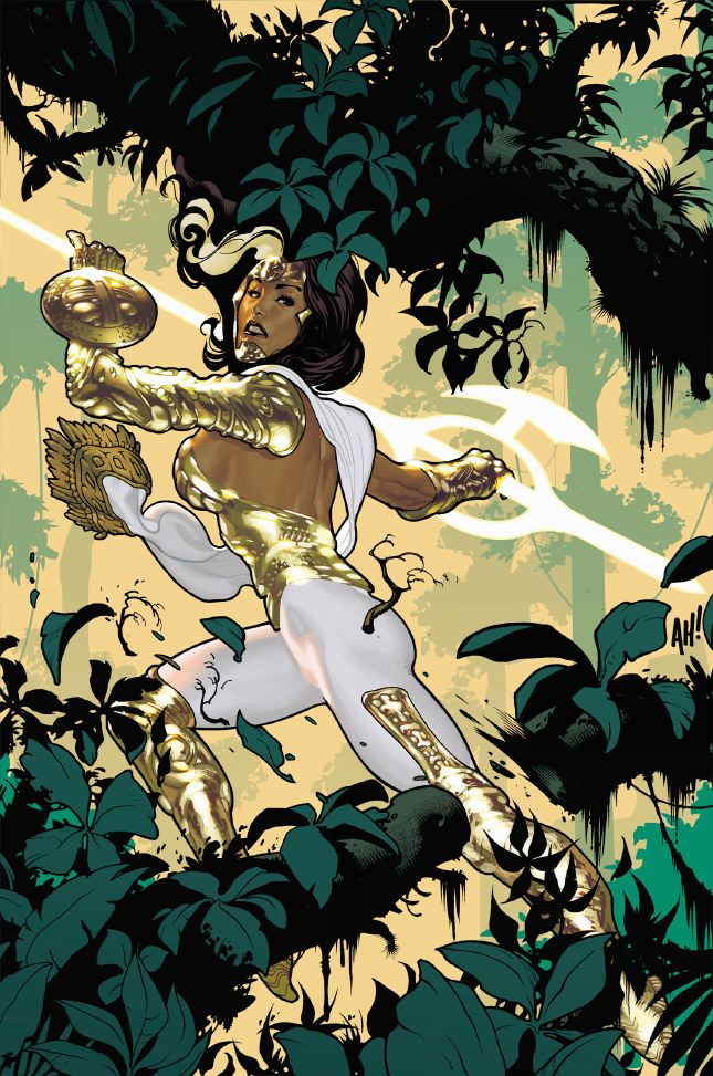Wonder Woman Jim Lee New 52 Maria Mendoza (Just Im...
