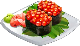 Recipe-Salmon Roe Sushi