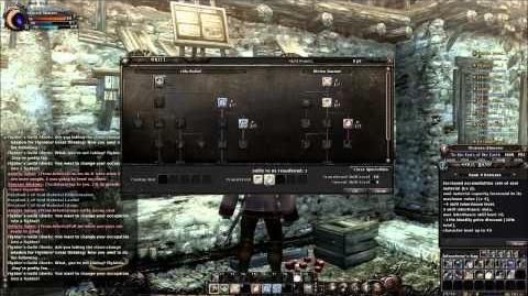 Wizardry Online Class Change Demonstration Narrated