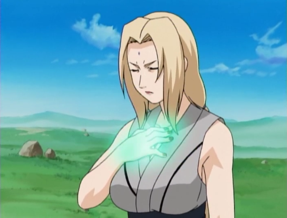 I'm never going back, the past is in the past Tsunade_usando_Shosen