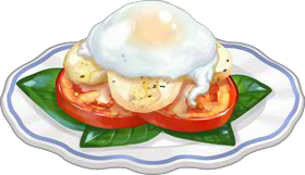 Recipe-Poached Eggs Caprese