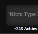 Nitro Type Master (Achievement)