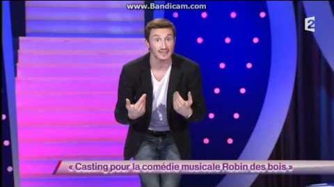 Casting pour la comédie musicale Robin des bois