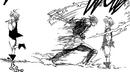 Meliodas dodging Gilthunder attack.png