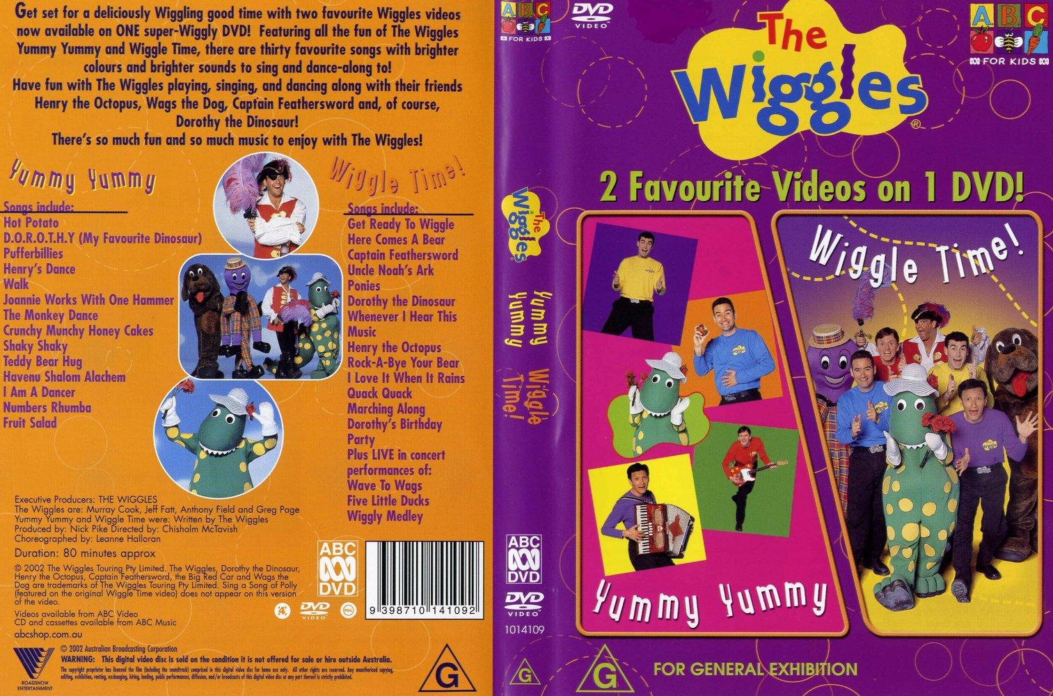 Yummy Yummy Wiggle Time Dvd Wikiwiggles