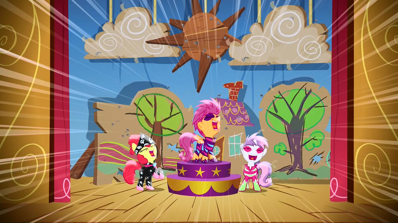 cutie mark crusaders song my little pony friendship is