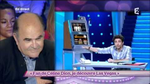 Fan de Céline Dion, je découvre Las Vegas