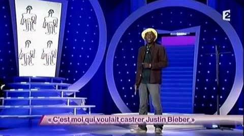 C'est moi qui voulais castrer Justin Bieber