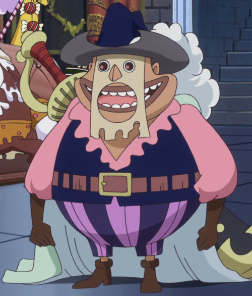 One Piece Encyclopedia: 500px-Bobbin_Anime_Infobox.png