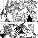 Meliodas saving Elizabeth from Golgius.png