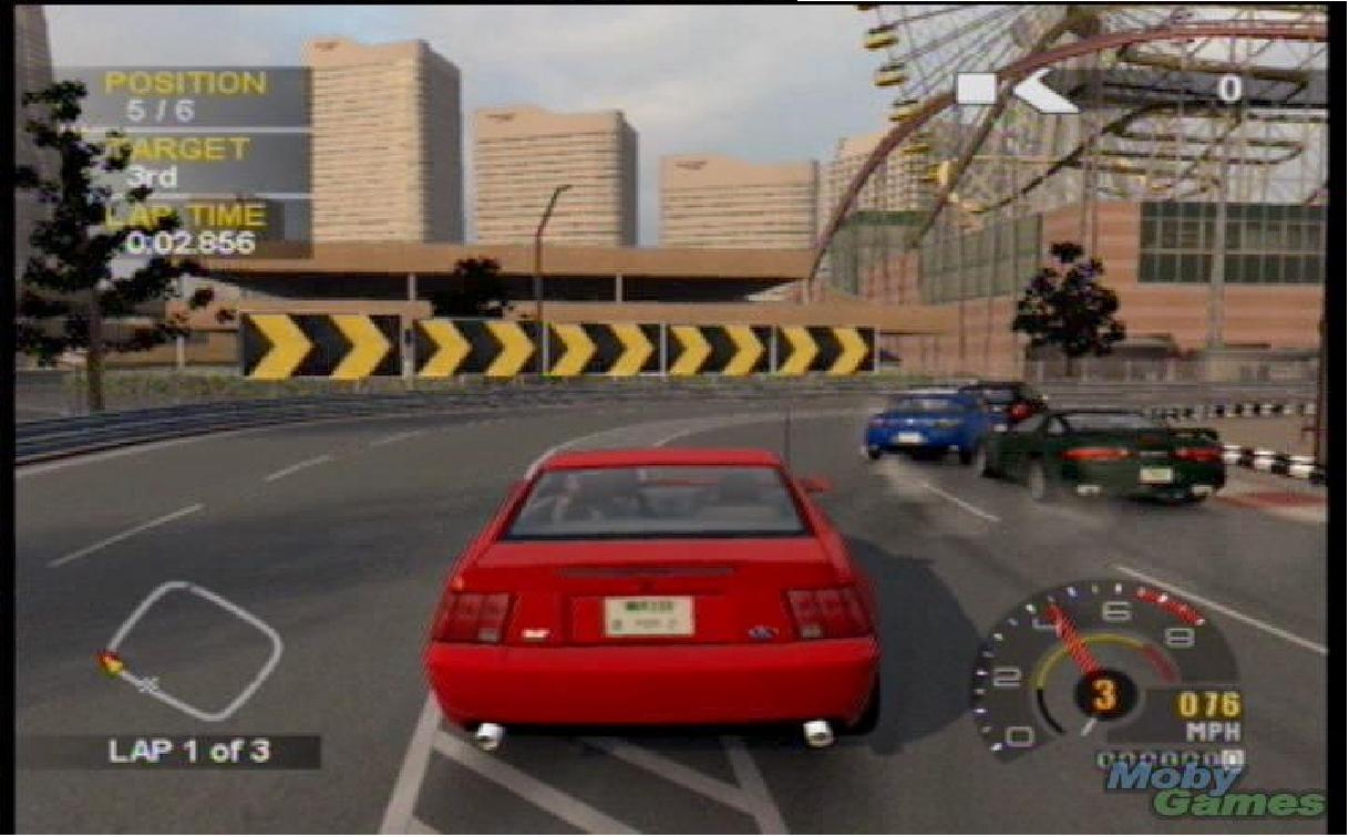 Project Gotham Racing  Cars