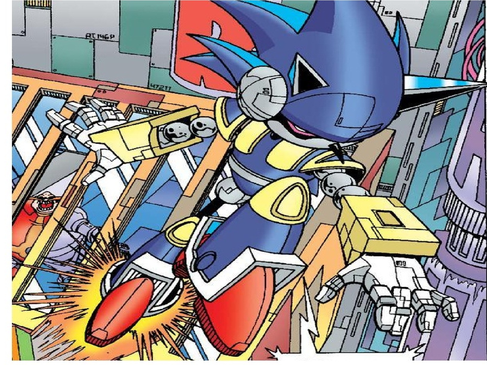 Sonic Archie Comic Series Images Let There Be Waaaar – Desenhos Para