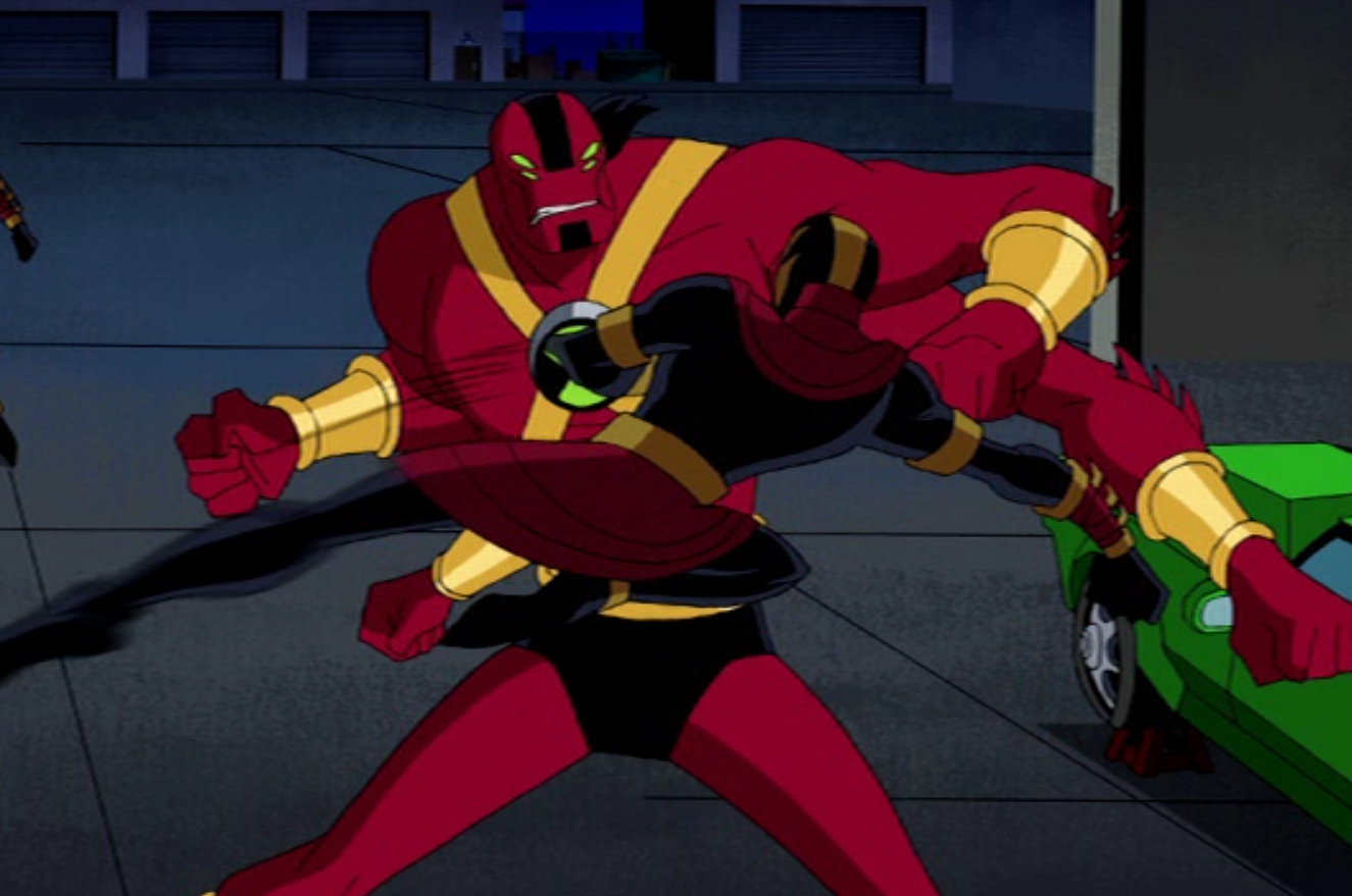 Ben 10 Ultimate Four Arms: Four Arms Begining 4.PNG