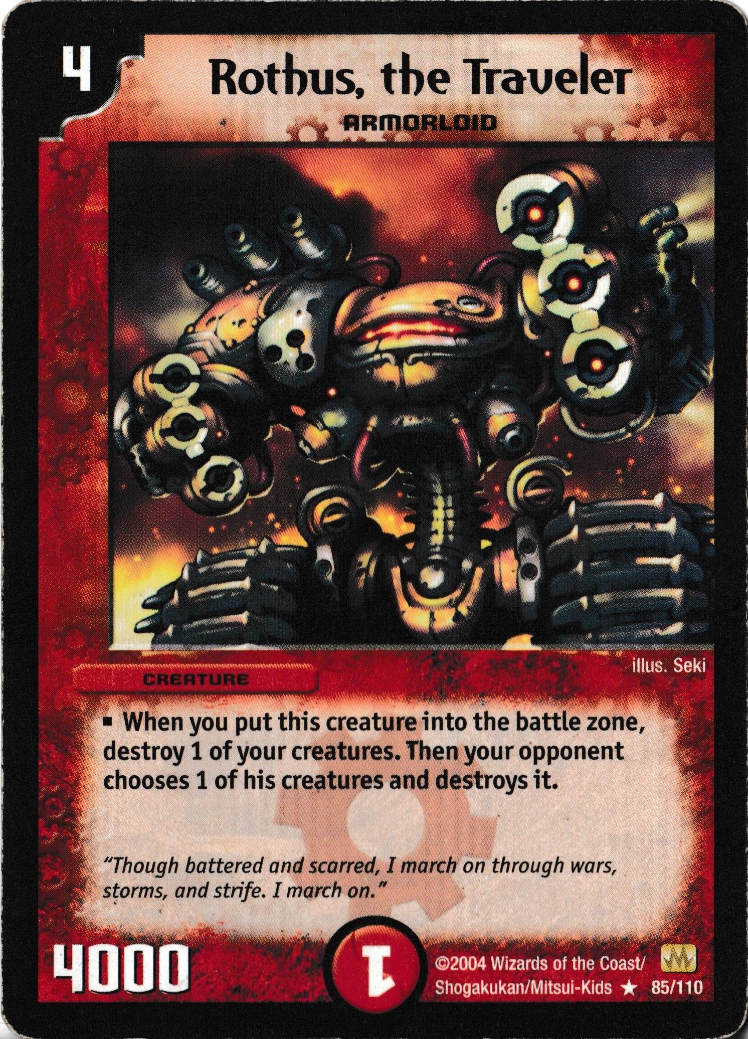 DM-01 Base Set - Käyttökelpoisimmat kortit RothusTheTraveler
