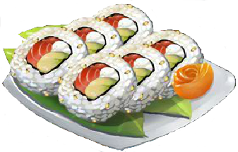 Recipe-Philadelphia Roll