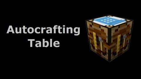 Autocrafting Table - Buildcraft In Less Than 90 Seconds
