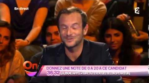 La première interview télévisée de Depardieu