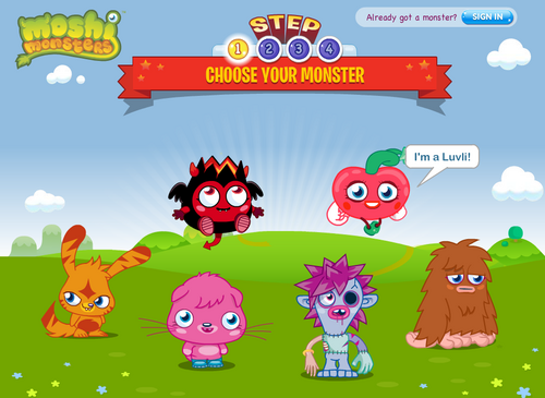 how to delete your moshi monsters account