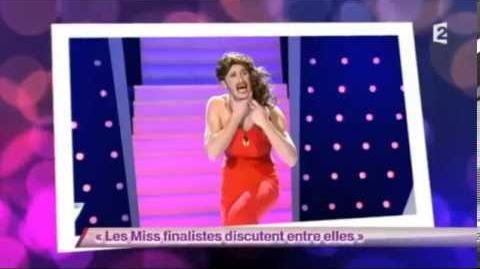 Les Miss finalistes discutent entre elles