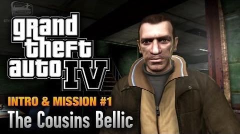 GTA 4 - Intro & Mission 1 - The Cousins Bellic (1080p)