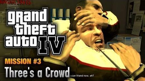 GTA 4 - Mission 3 - Three's a Crowd (1080p)