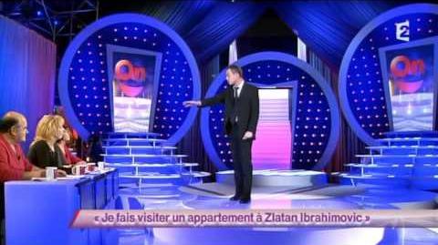 Je fais visiter un appartement à Zlatan Ibrahimovic