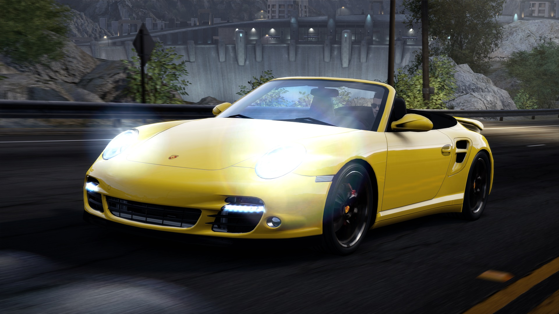 porsche 911 turbo s cabriolet 997 at the need for speed. Black Bedroom Furniture Sets. Home Design Ideas