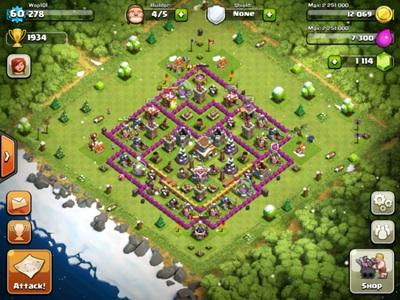 Clash of Clans Level 8 Base