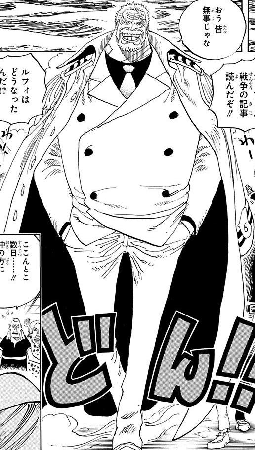 Monkey D. Garp - The One Piece Wiki - Manga, Anime ...