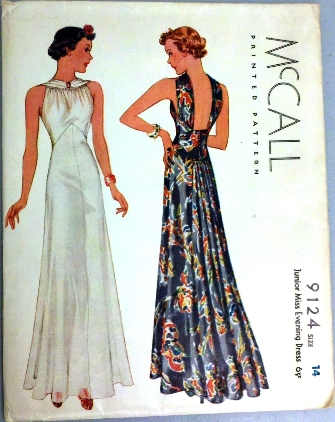 Mccall 9124 Vintage Sewing Patterns