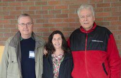 Julie Greene, Tom Sponheim, Paul Hedrick a