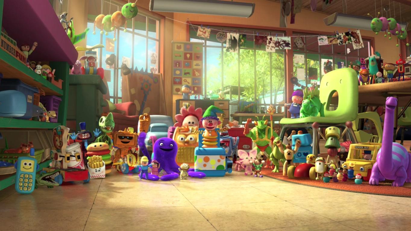 Day Care Toy Story 3 : Sunnyside daycare disney wiki