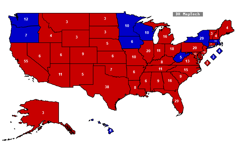 2016 Election Predictions By State  Autos Post
