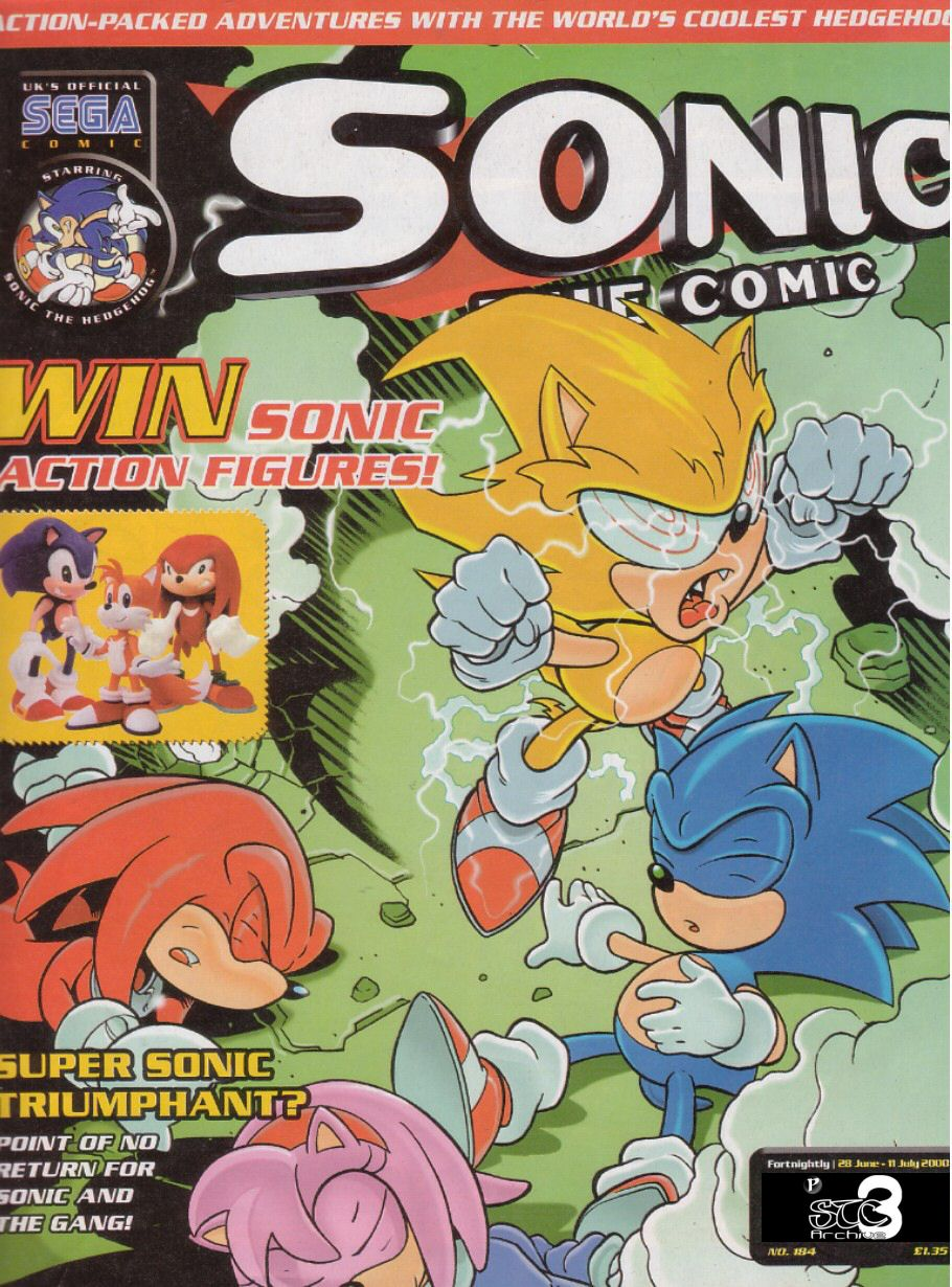 Sonic The Comic Issue 184 Sonic News Network The Sonic