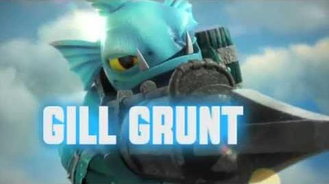 Meet the Skylanders - Series 2 Gill Grunt