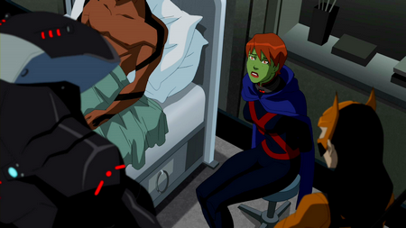 Young Justice Superboy And Miss Martian Get Back Together Image - Miss Martian c...