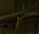 Angielski pistolet skałkowy