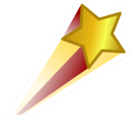 Shooting Star Pin