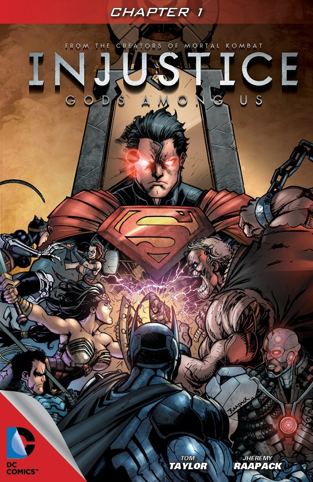 20 - [DC COMICS] INJUSTICE: Gods Among Us Portada_1_0-615x946