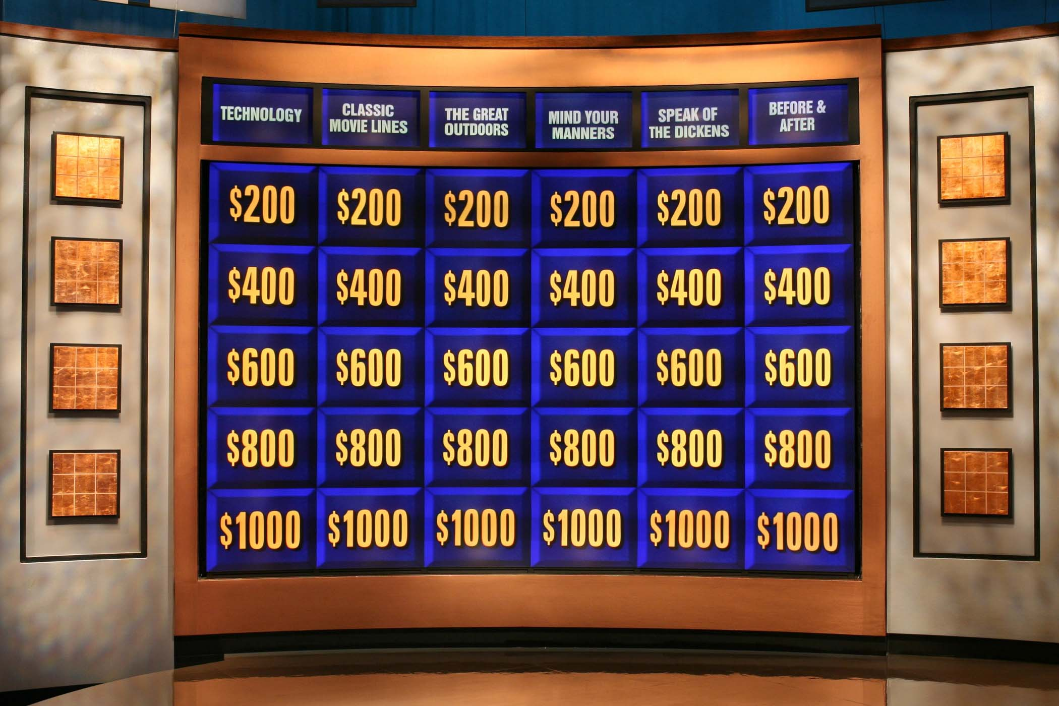 the joy of jeopardy! « sam aronow, Powerpoint templates