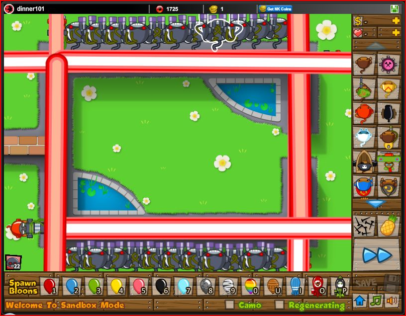 Unblocked games click for details of bloons super monkey 2 games