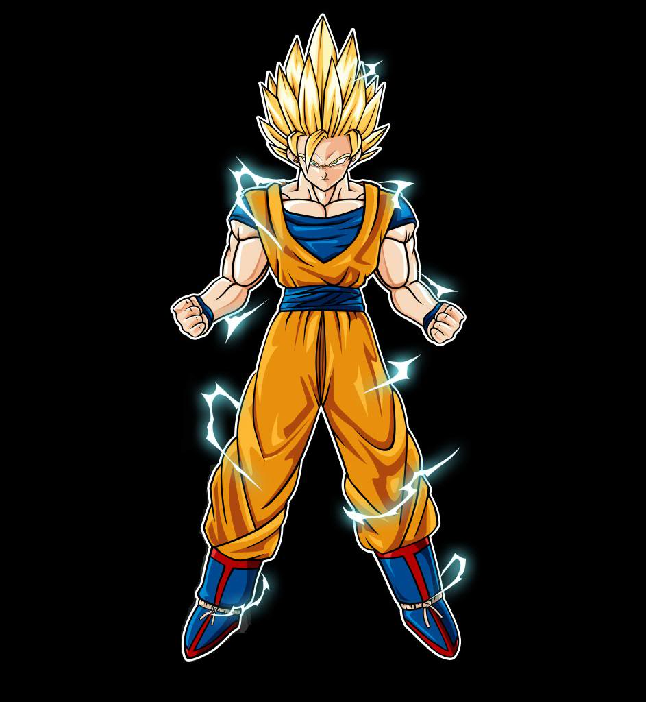 Image - Super saiyan 2 goku.jpg - Ultra Dragon Ball Wiki