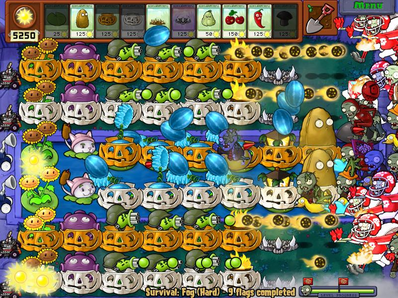 plants vs zombies levels
