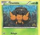 Dwebble (Mcdonald's Collection B&W2 TCG)