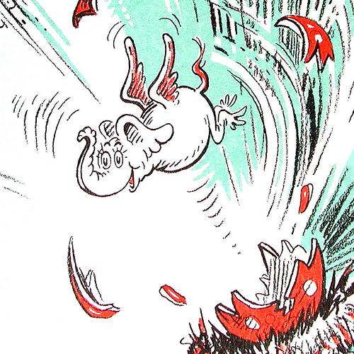 horton hatches the egg coloring pages - horton hatches an egg coloring pages